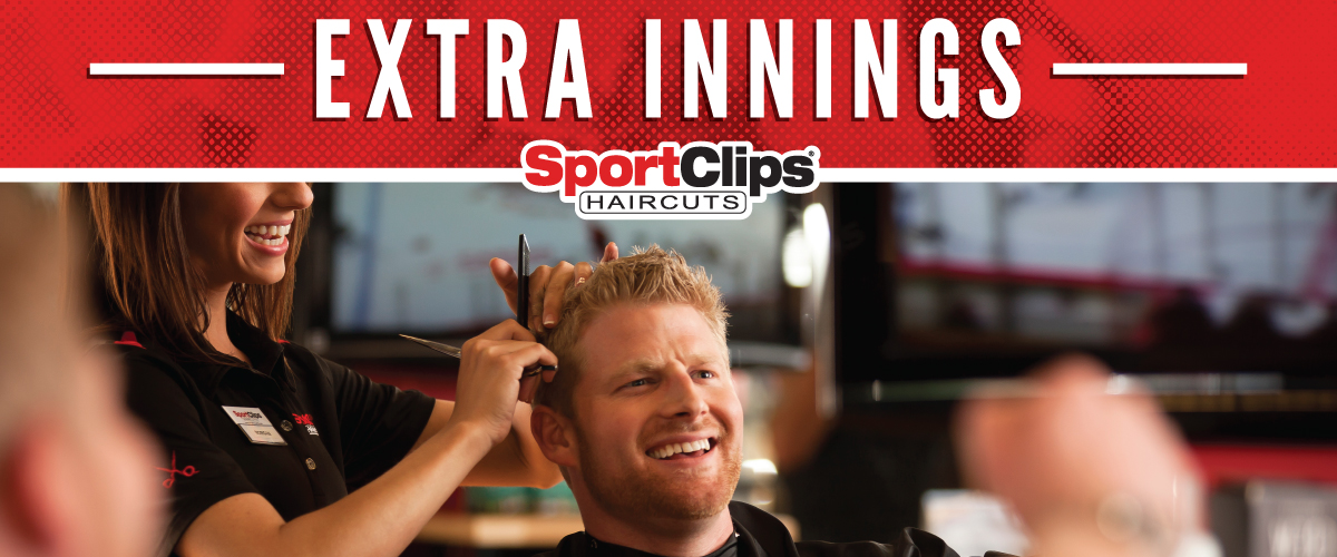 The Sport Clips Haircuts of Layton Hills  Extra Innings Offerings